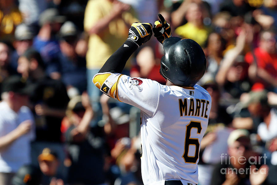 Starling Marte Photograph by Justin K. Aller