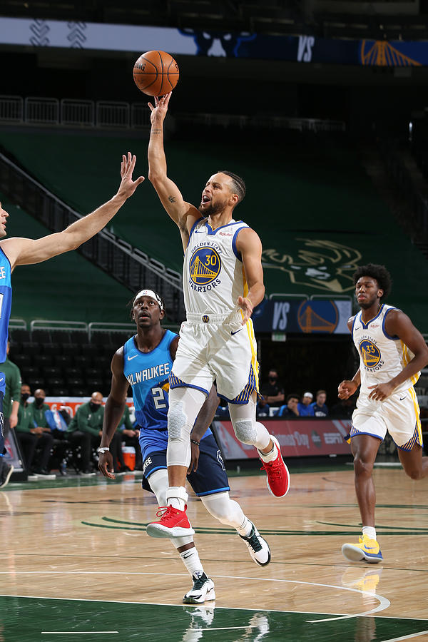 Stephen Curry Photograph by Gary Dineen