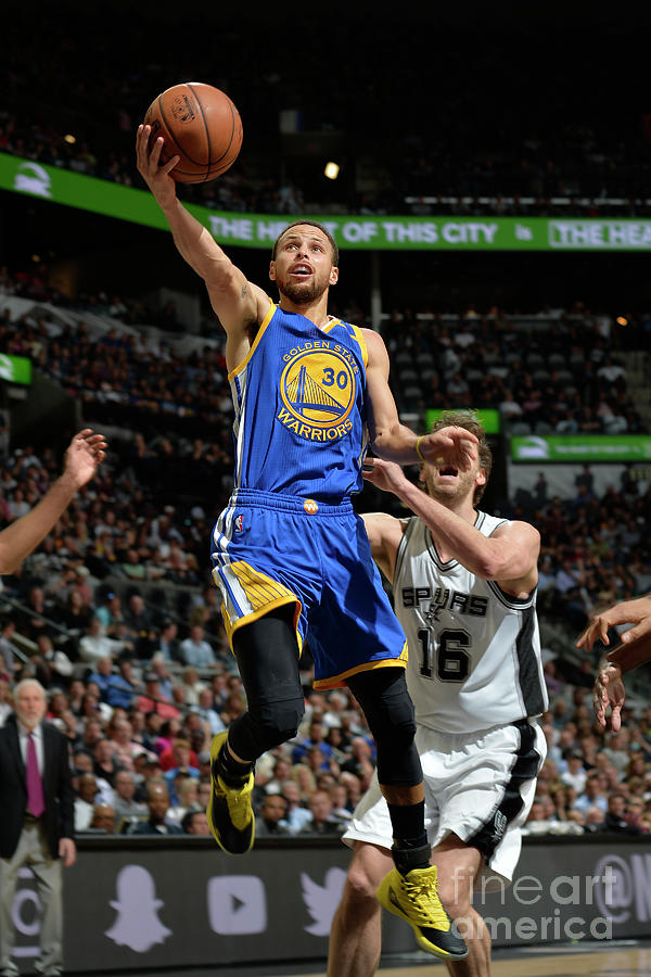 Stephen Curry Photograph by Mark Sobhani