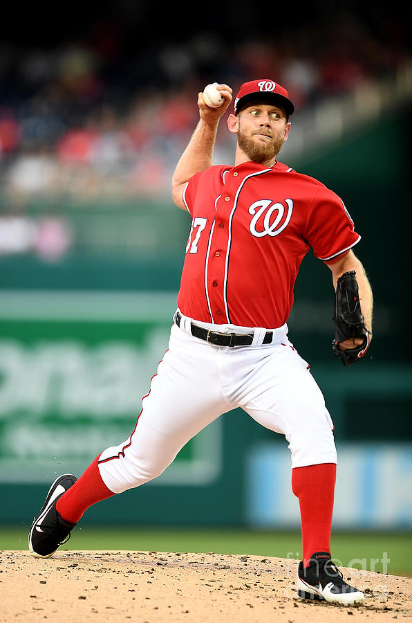 Stephen Strasburg Photograph by Greg Fiume