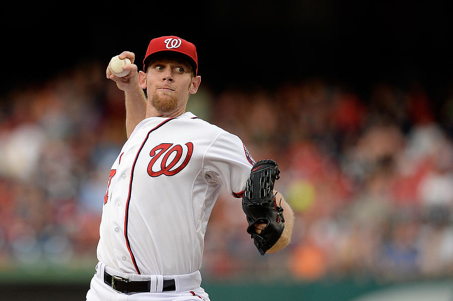 Stephen Strasburg Photograph by Patrick Mcdermott