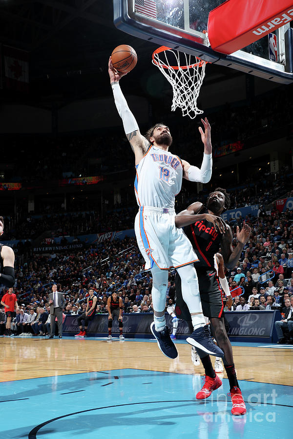 Steven Adams Photograph by Zach Beeker