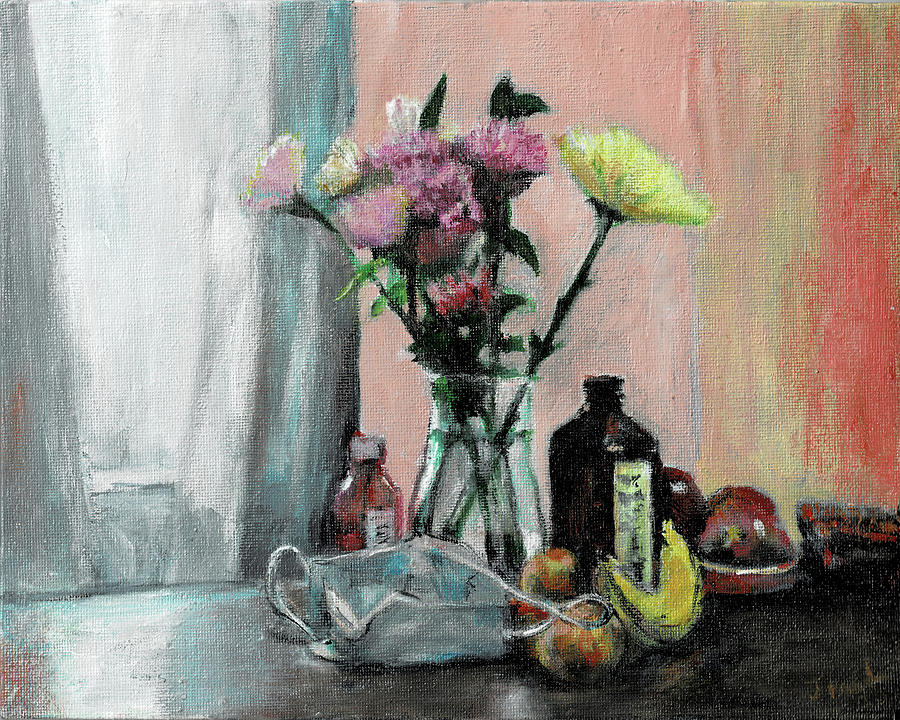 Still Life Painting - Still Alive by Ted Coombs