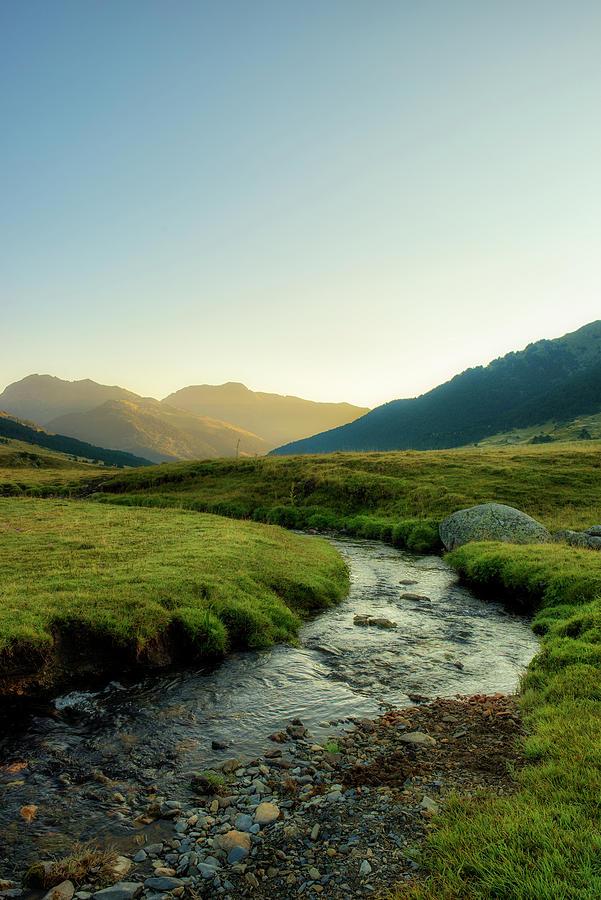 Stream in Baqueira, Valle de aran by Vicen Photography