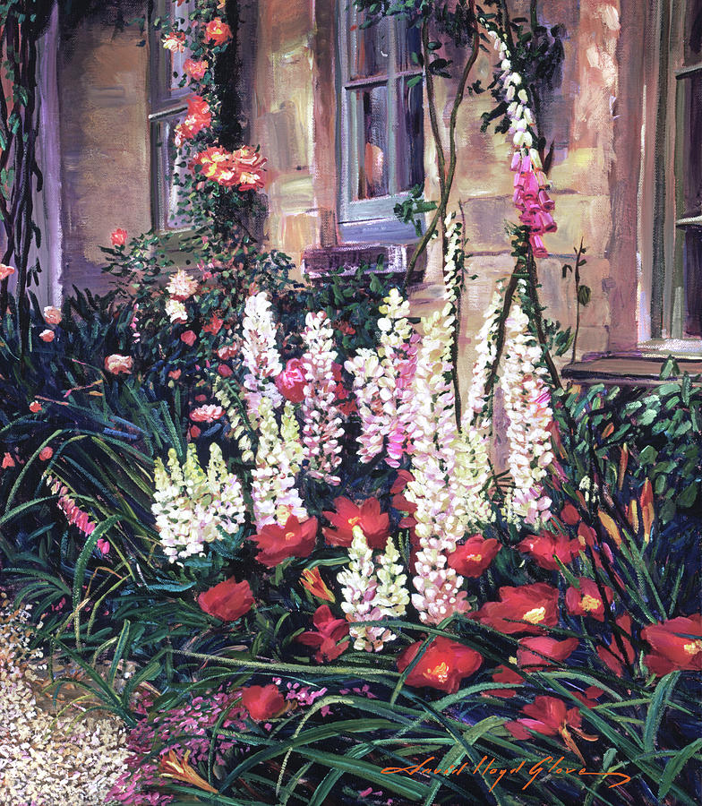 SUMMER GARDEN  by David Lloyd Glover