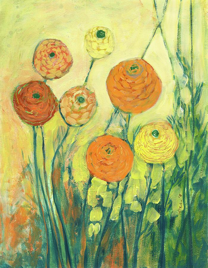 Sunrise In Bloom Painting