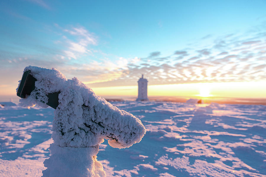 Sunrise on the Brocken, Harz by Andreas Levi