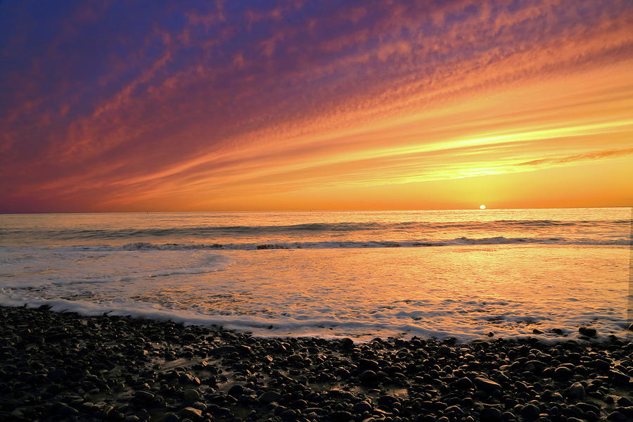 West Coast Sunset Photograph