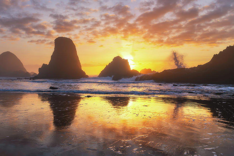 Sunset Splash by Darren White