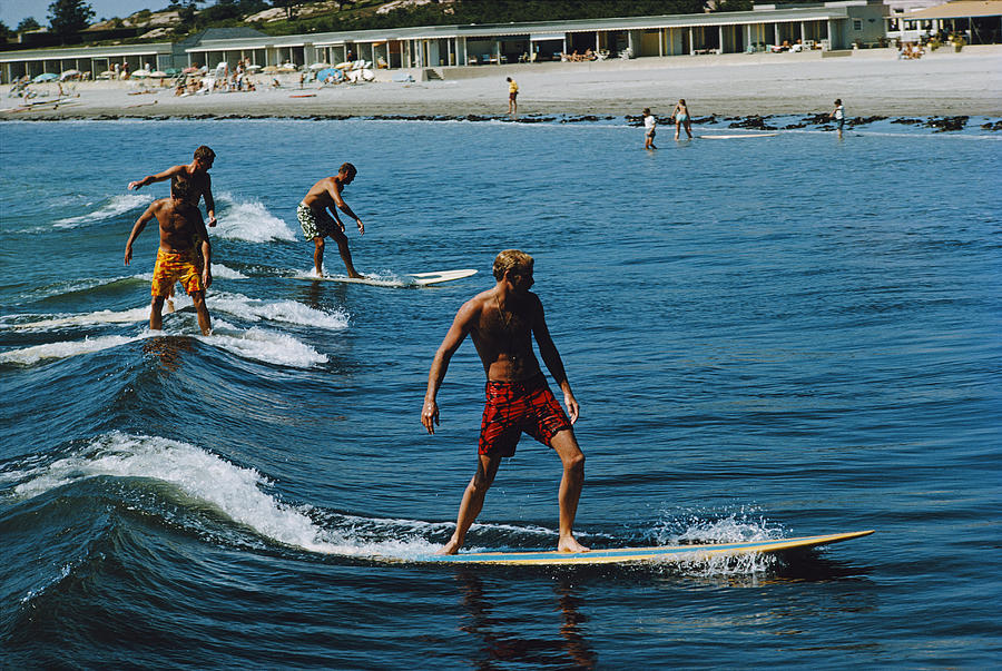 Surfing Brothers Photograph by Slim Aarons