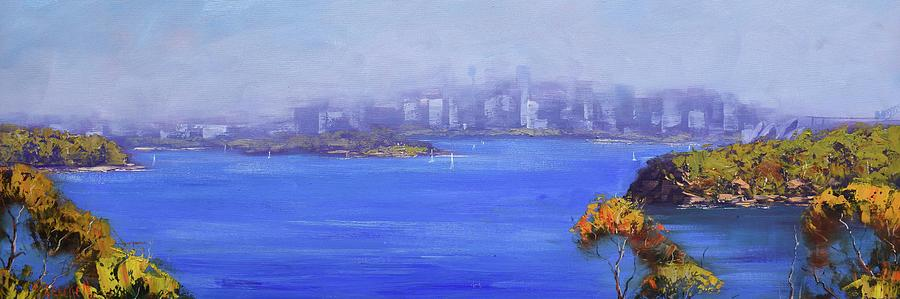 Sydney Harbour Painting