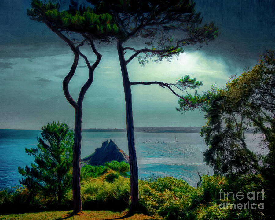 Tall Pines by Edmund Nagele