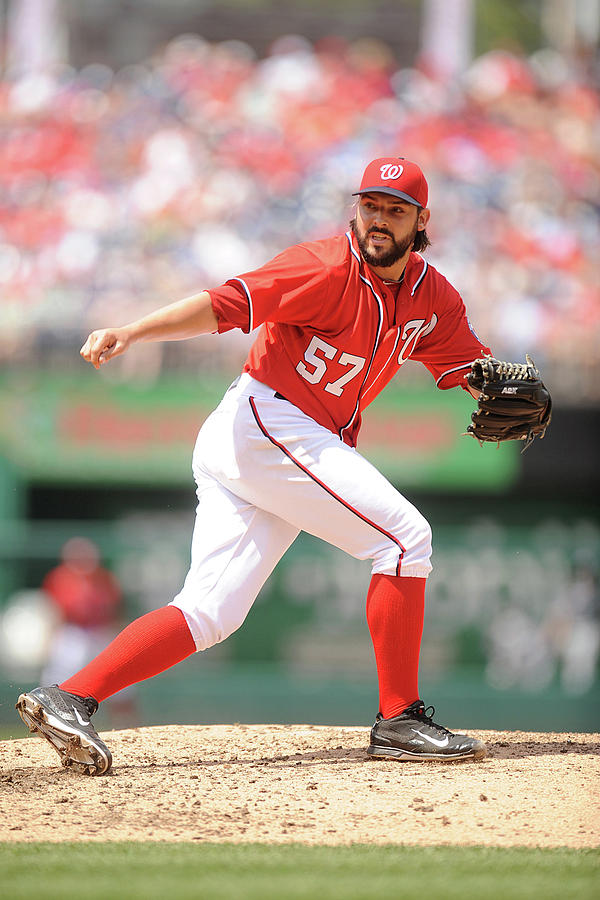 Tanner Roark Photograph by Mitchell Layton