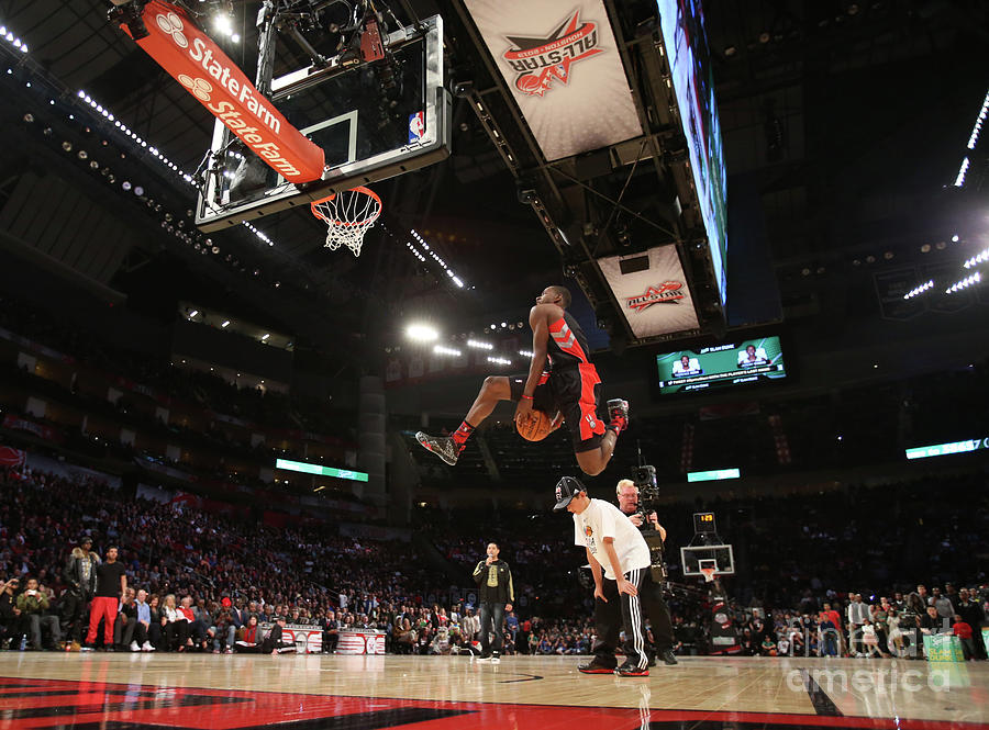 Terrence Ross Photograph by Nathaniel S. Butler