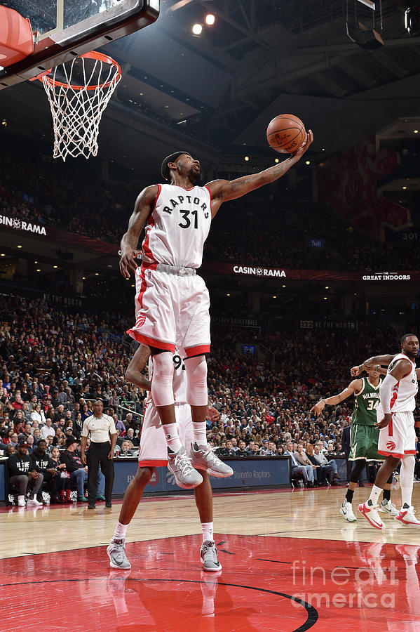 Terrence Ross Photograph by Ron Turenne