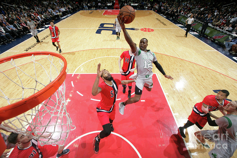 Terry Rozier Photograph by Ned Dishman