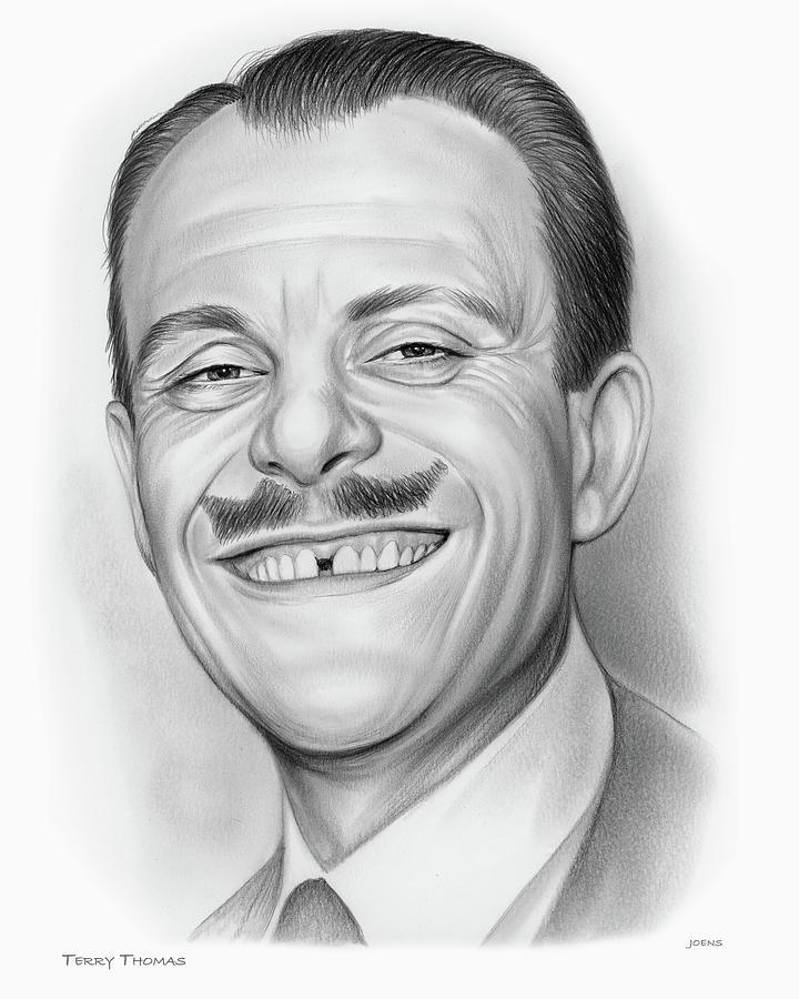 Terry Thomas Drawing