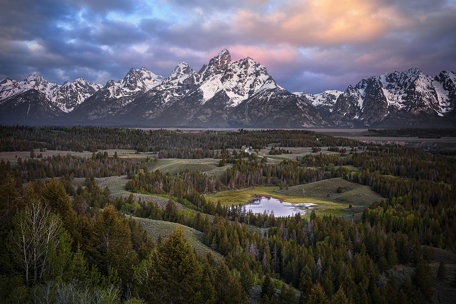 Teton Overlook Photograph by Ryan Smith