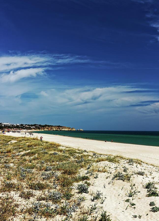 The Beach At Alvor Photograph