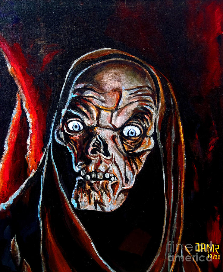 The Crypt Keeper Painting - The Crypt Keeper by Jose Mendez