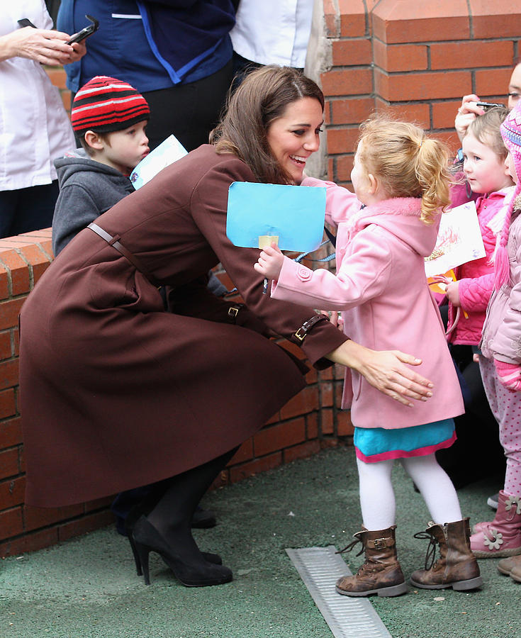 The Duchess Of Cambridge Visits Liverpool Photograph by Chris Jackson
