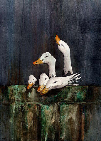 The Family Portrait. by Val Byrne