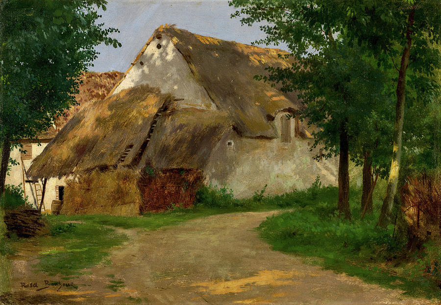 The Farm at the Entrance of the Wood by Rosa Bonheur