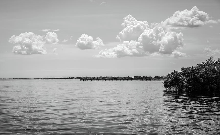 Pier Photograph - The Fishing Piers on Charlotte Harbor by Ric Schafer