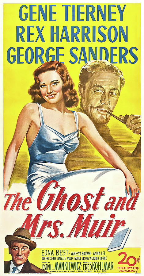 the Ghost And Mrs., Muir - 1947 Mixed Media