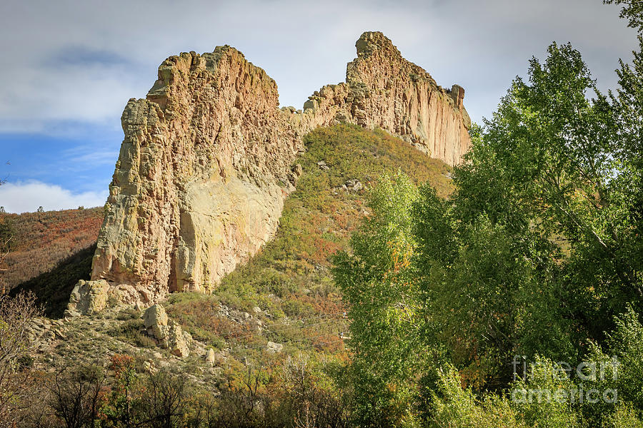 The Great Dikes Rock Formations In The Spanish Peaks Of Colorado Photograph
