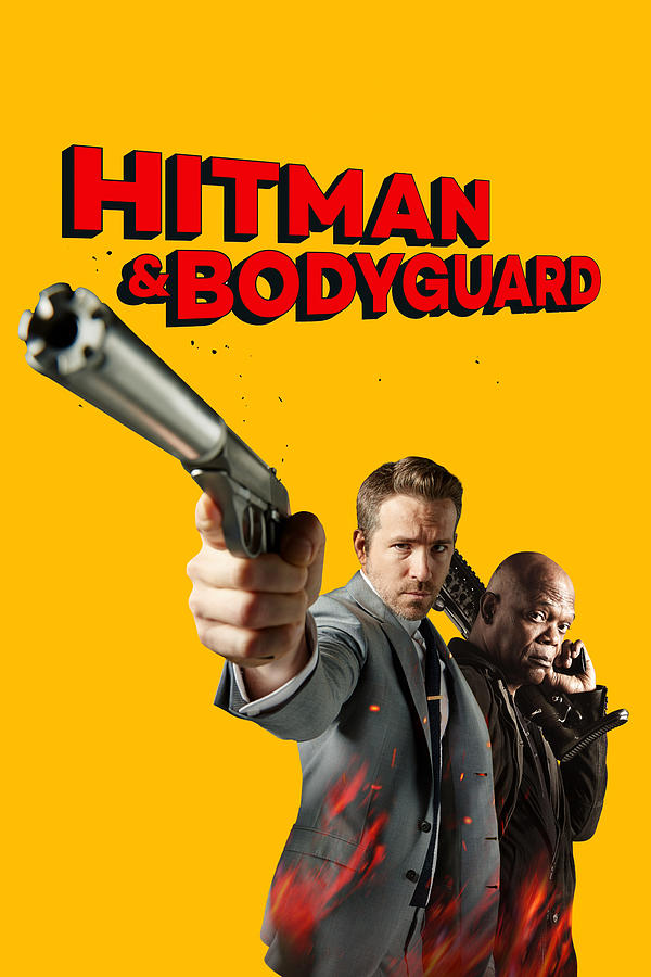 The Hitman S Bodyguard 2017 Digital Art By Geek N Rock