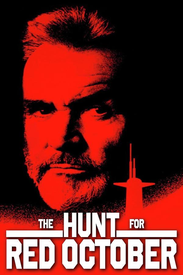 The Hunt For Red October 1990 Digital Art By Geek N Rock