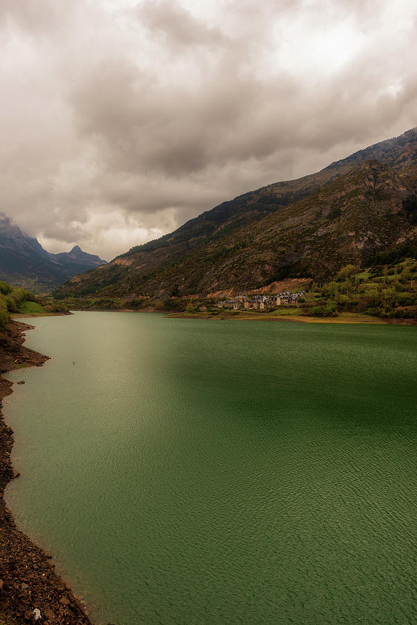 The Lake Of Lanuza In The Pyrenees Of Huesca Photograph