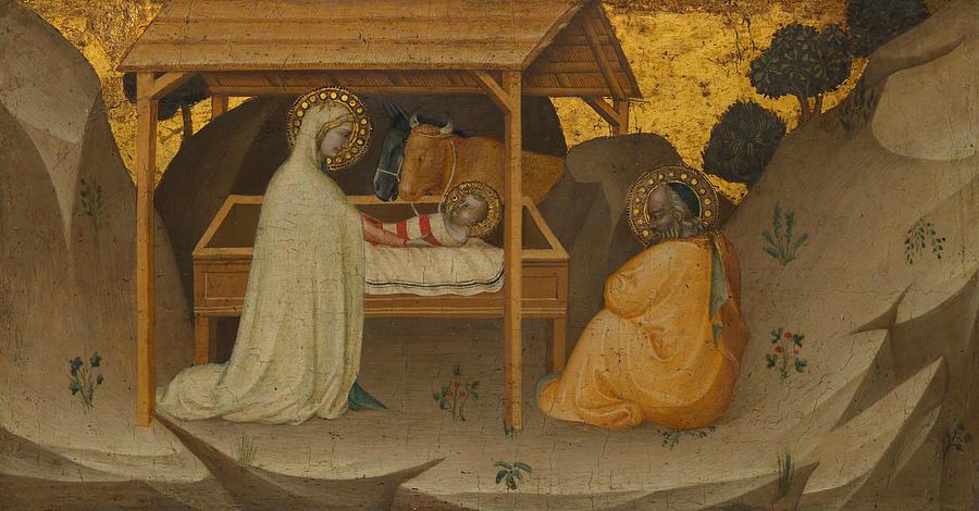 The Nativity by Puccio di Simone