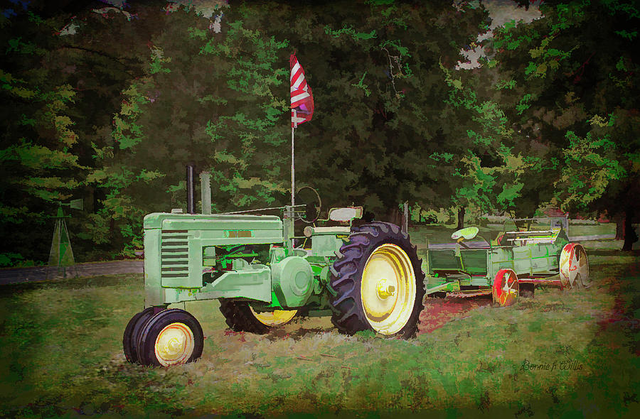 The Old John Deere Tractor by Bonnie Willis