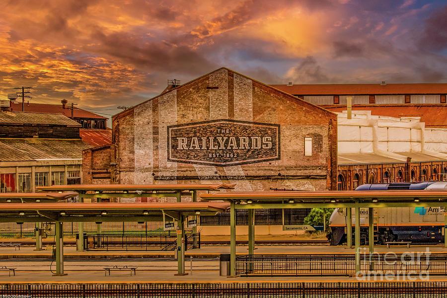 The Railyards  Of Sacramento Photograph
