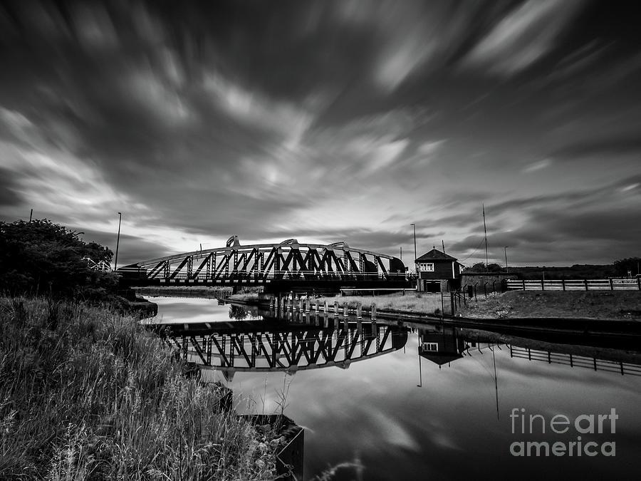 The Sutton Weaver Swing Bridge Photograph