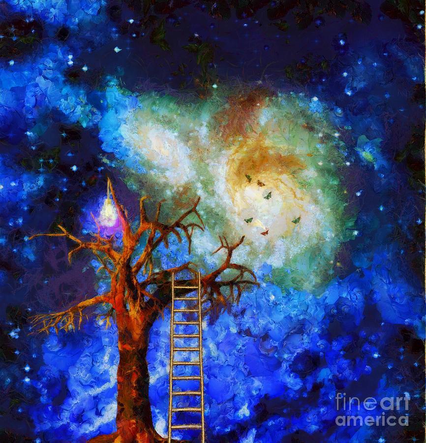The Tree Of Wisdom Digital Art