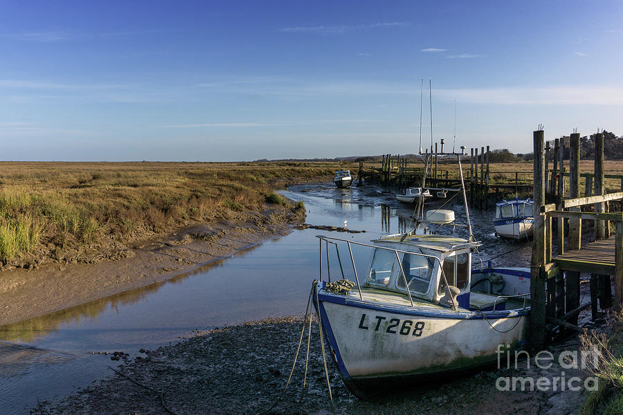 Thornham Staithe Norfolk Uk Photograph