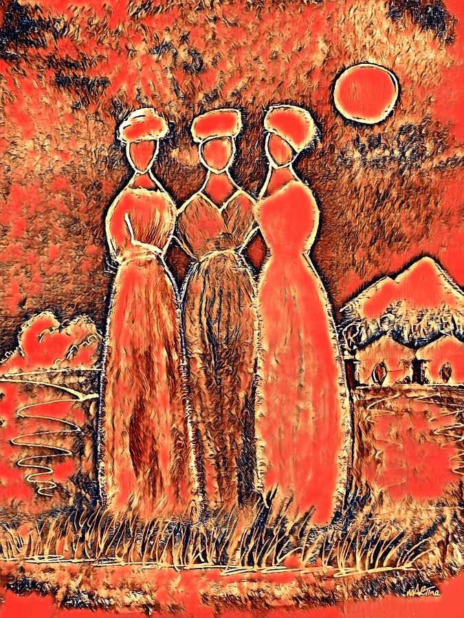 Three Sisters Digital Art