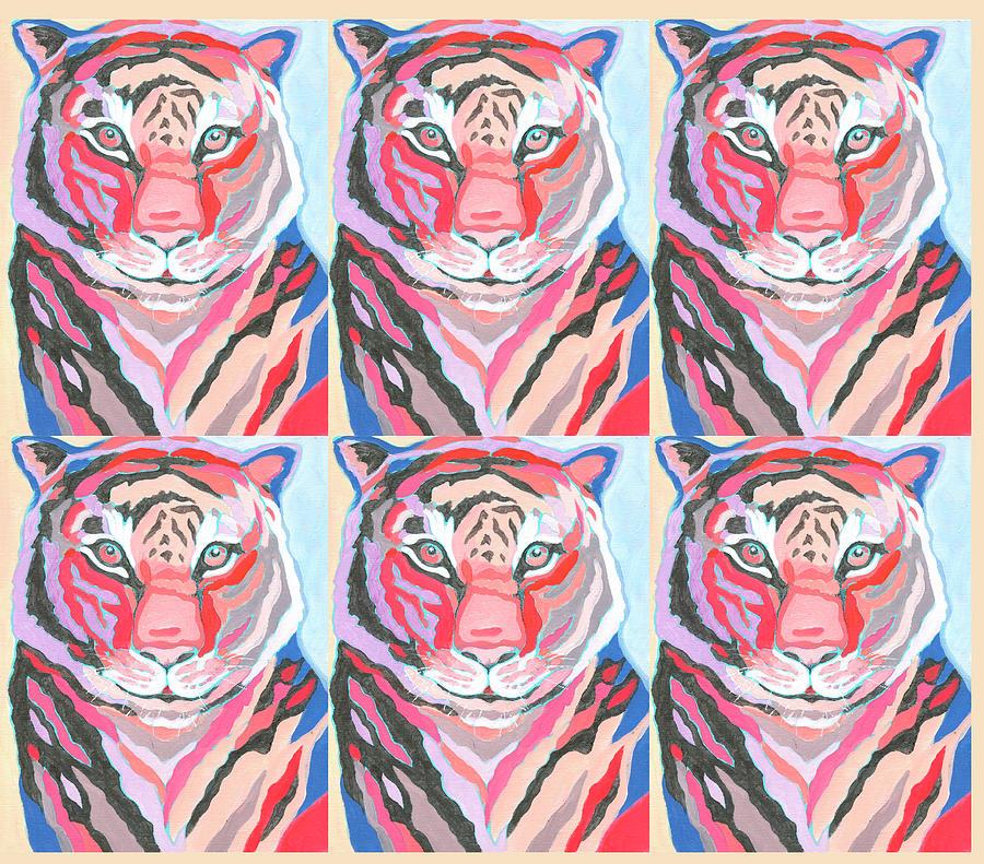 Tiger Pop Art Iv Digital Art