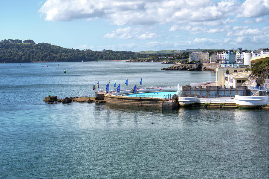 Tinside Lido And Foreshore Photograph