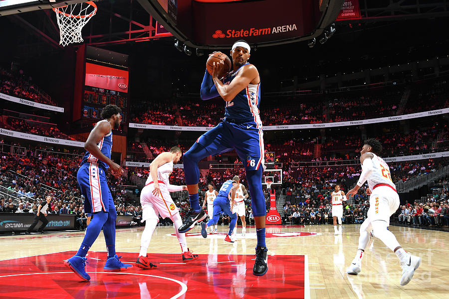 Tobias Harris Photograph by Scott Cunningham
