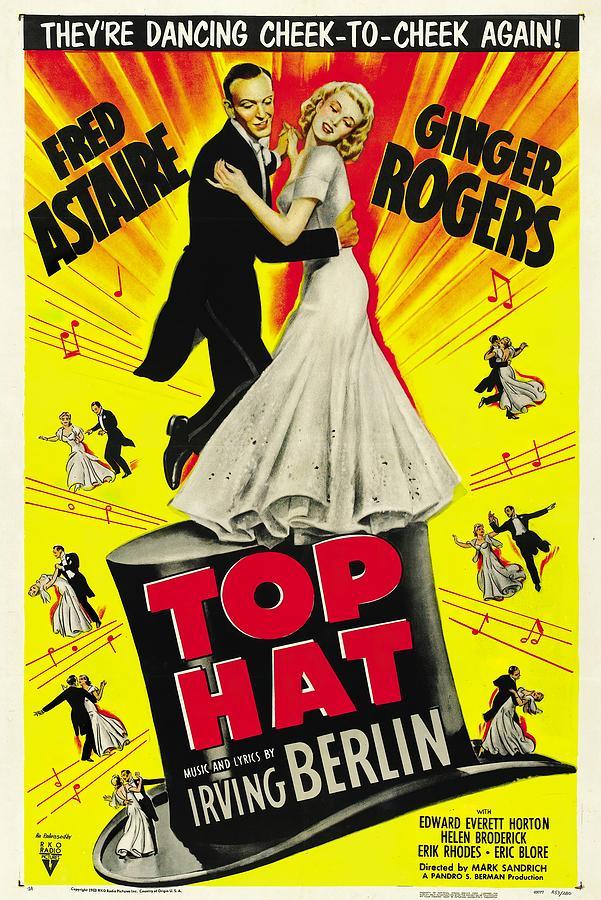 top Hat, 1935 - D Mixed Media