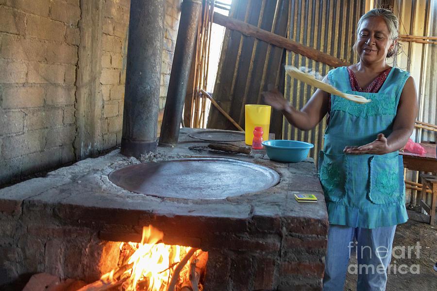 Tortilla Maker Photograph