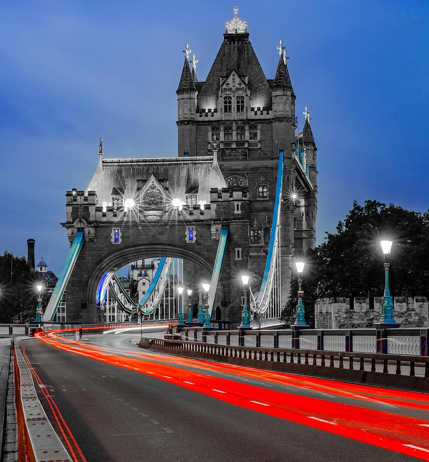 Tower Bridge In London. Photograph