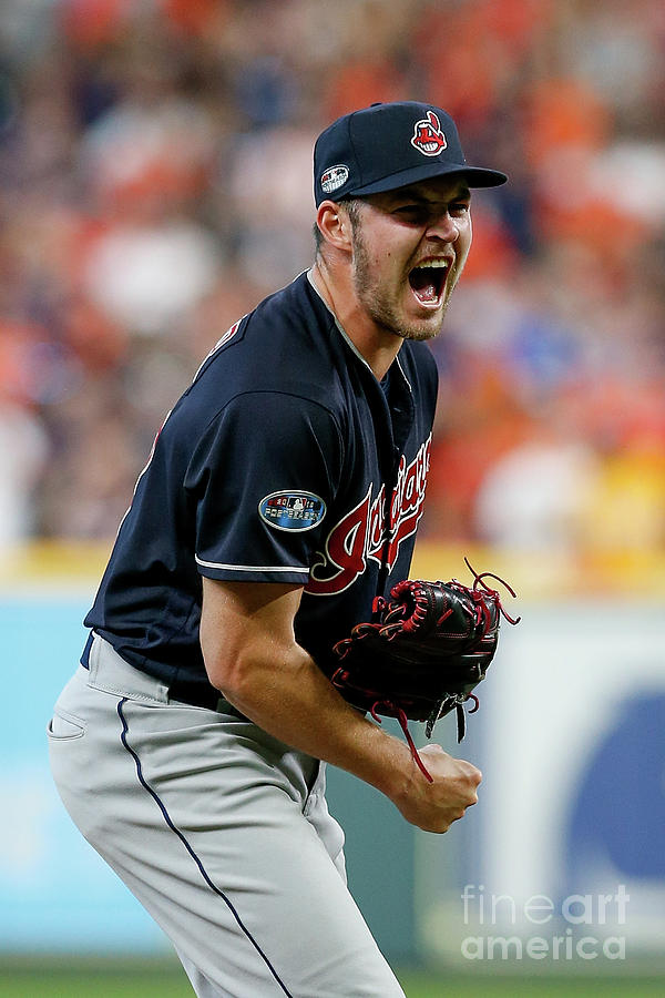 Trevor Bauer Photograph by Tim Warner
