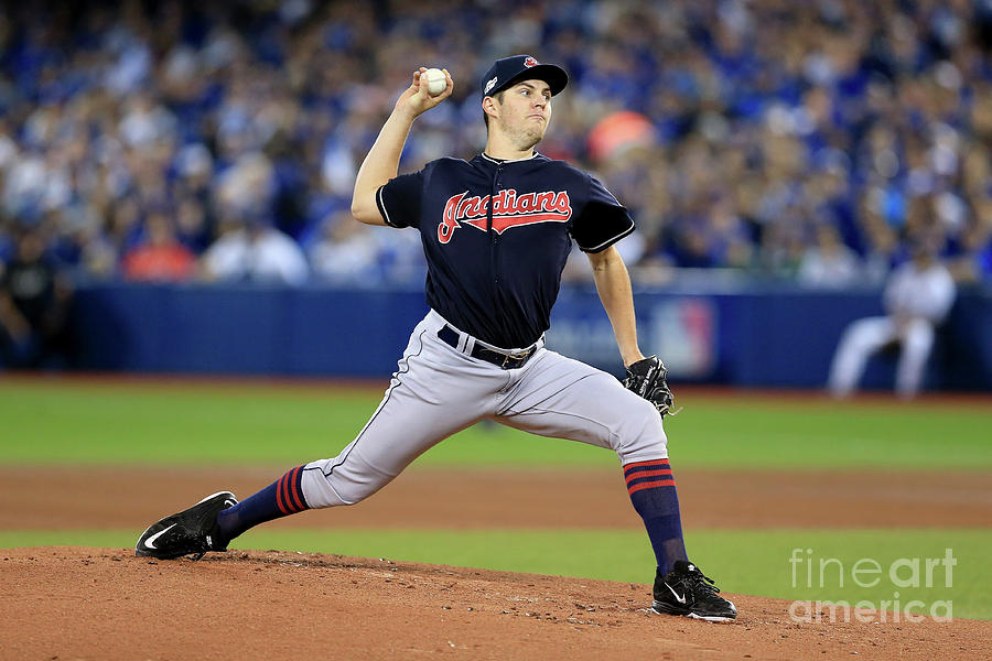 Trevor Bauer Photograph by Vaughn Ridley