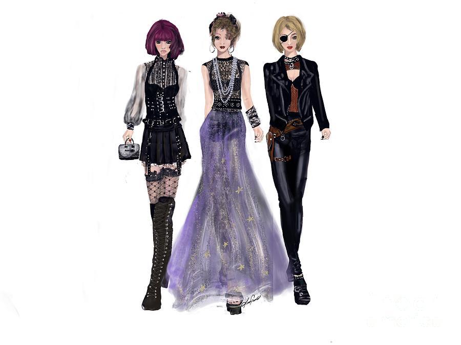 Trio Digital Art