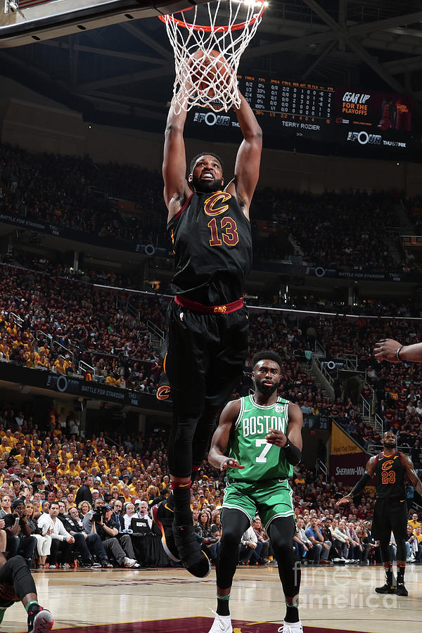 Tristan Thompson Photograph by Nathaniel S. Butler
